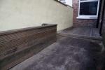 Decking razed flower bed