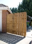 Built fencing by Ashtons Handyman services