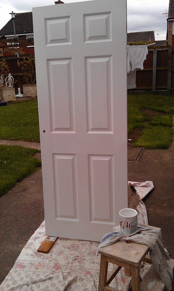 Laminate Door painting and hanging