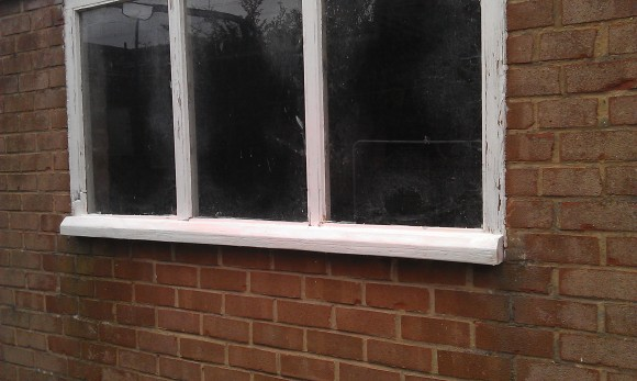 sill replaced on window