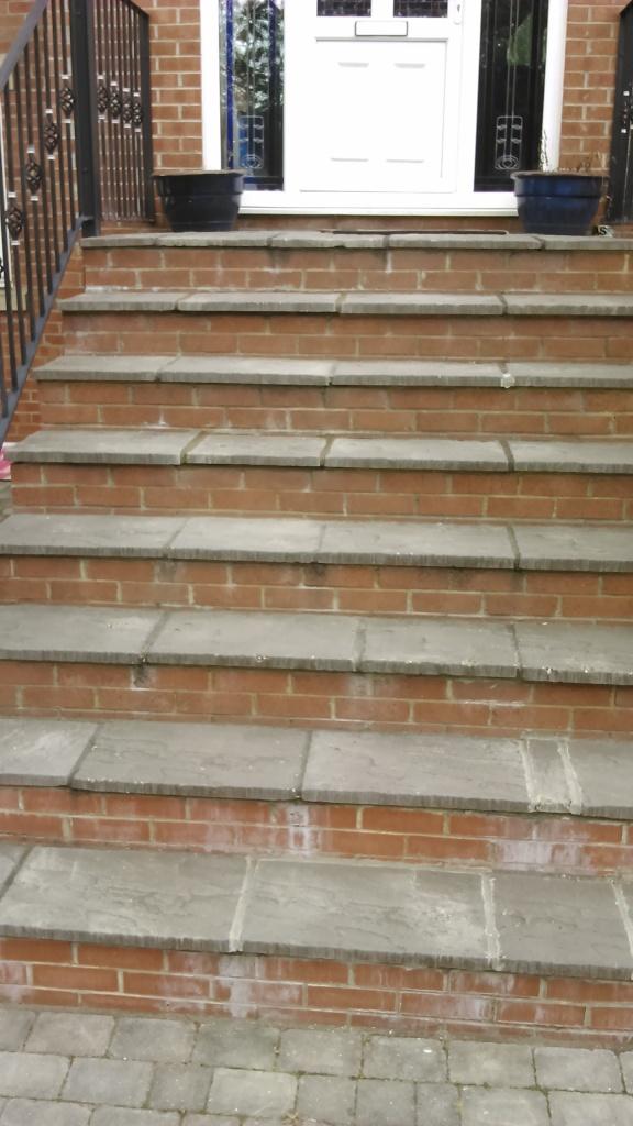 paving steps
