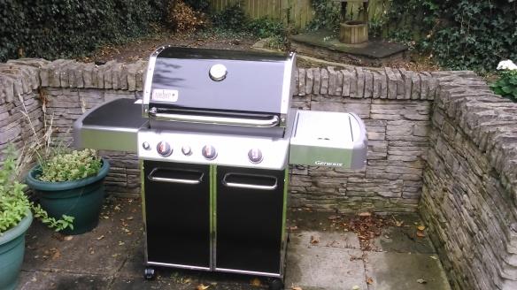 Weber BBQ assembled