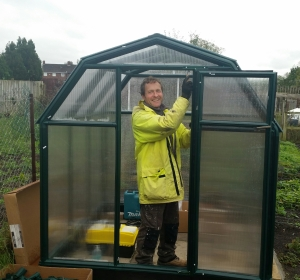Greenhouse assembly_1