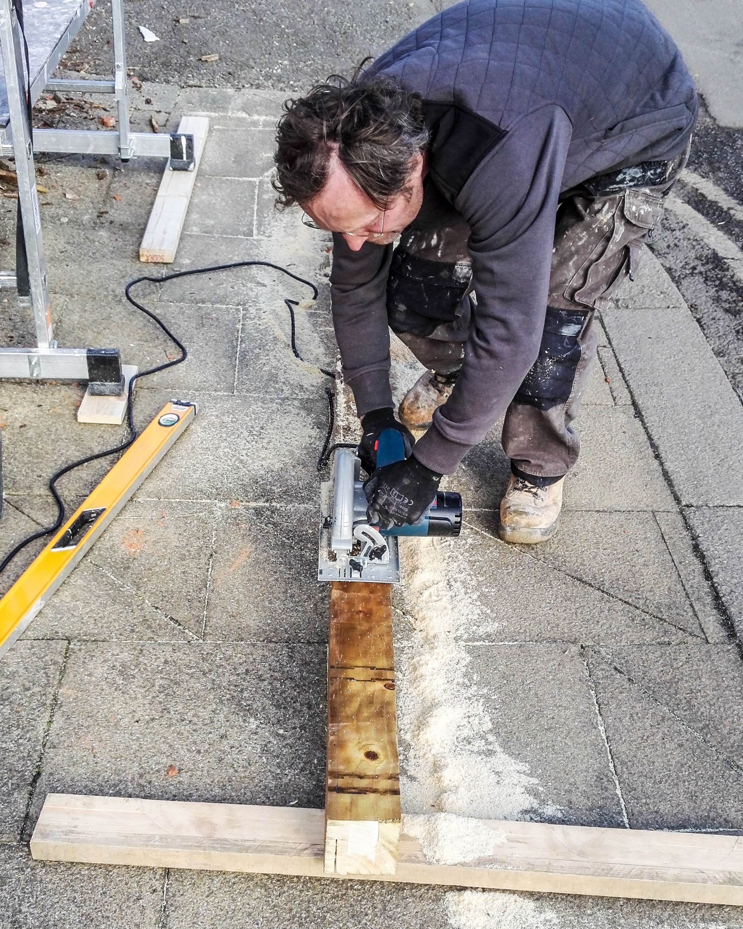 Lintel Replaced Over Garage Door Ashtons Handyman