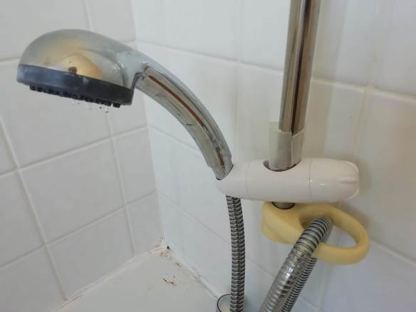 Shower holder brocken